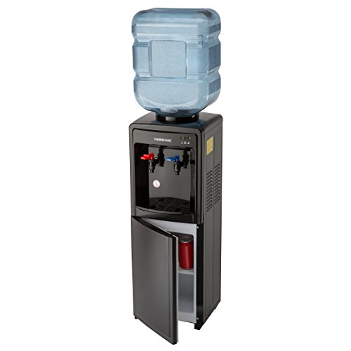 Farberware FW29919 Freestanding Hot and Cool Water Cooler Dispenser, Black