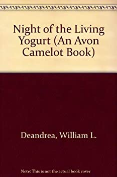 Night of the Living Yogurt (An Avon Camelot Book) 0380783584 Book Cover