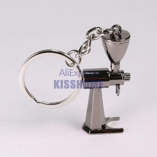 HANGON Schlüsselanhänger für Paare, Espresso-Zubehör, Kaffee, Mini-Kaffeestampfer, schöner Kaffee-Schlüsselanhänger, Geschenk für Kaffeeliebhaber, Schlüsselanhänger