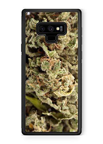 bud phone cases 407Case Galaxy Note 9 Marijuana Kush Weed Protective Rubber Phone Case 420 dank Bud (Galaxy Note 9)