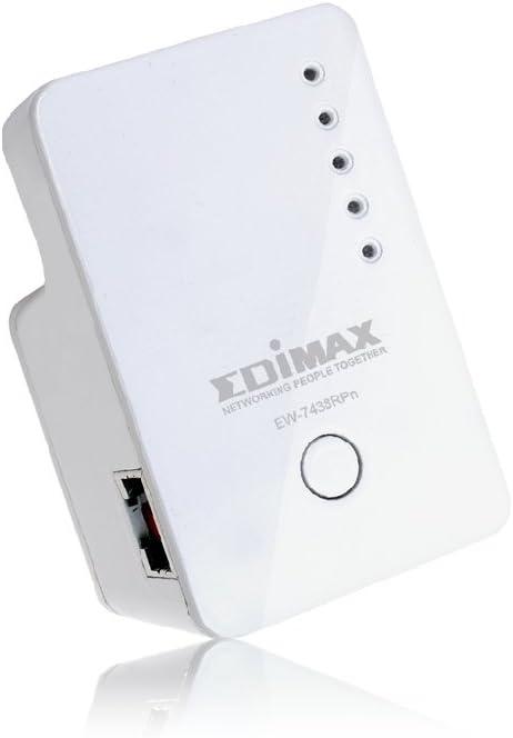 Edimax Ew 7438rpn Mini N300 Wifi Extender Weiß Computer Zubehör