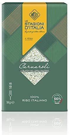 Arroz Le Stagioni d'Italia Carnaroli - 10 x 1 kg