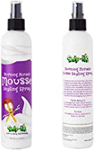 Snip-its Morning Miracle Natural Hair Mousse Spray 10oz | Light Hold Kids Hair Products - Tropical Smelling Kids Hair Gel Alternative for Unruly Curly Hair - Made in USA | Salon Quality. Kid Friendly