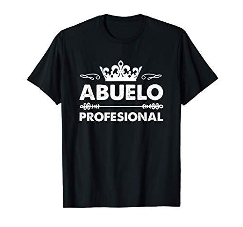 Hombre Abuelo Profesional Abuelo Regalo La Mejor Abuelo Del Mundo Camiseta