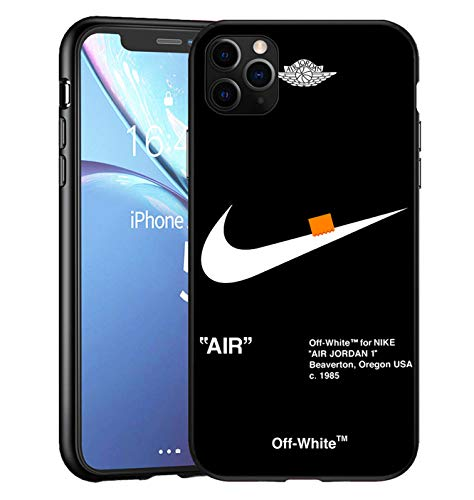 AJ Force 1 x O-W iPhone 11 PRO Custodia, Slim Anti Scivolo Custodia Protezione Posteriore Cover Antiurto per iPhone 11 PRO