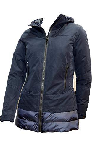 HOX Jacke Frau Farbe Dark Blue Xd 4312 mit Kapuze und Reißverschluss - Siehe Fotos, S