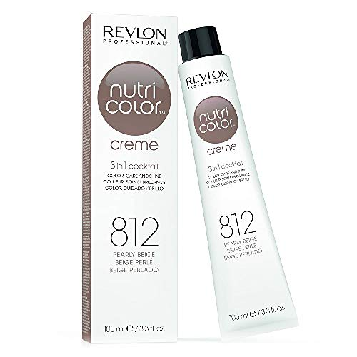 REVLON PROFESSIONAL Nutri Color Crème, Nr. 812 Pearly Beige,1er Pack (1 x 100 ml)