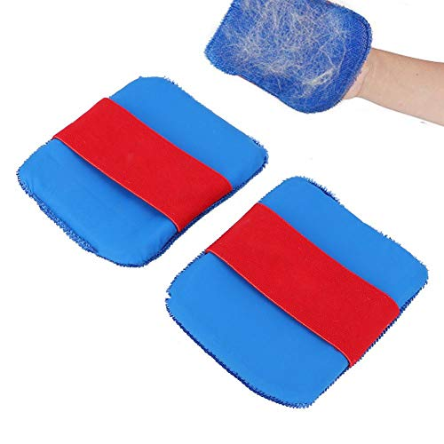 Pssopp 2 unids Pet Hair Lint Remover Glove Dog Cat