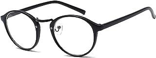 BOZEVON Women Glasses - Black Lightweight Frame Classic Vintage Clear Lenses Non Prescription Retro Glasses Ladies Fashion Accessories Eyewear