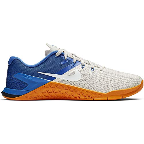 Nike Metcon 4 Xd, Zapatillas de Deporte para Hombre, Multicolor (Light Bone/White/Game Royal/Orange Peel 2), 42.5 EU