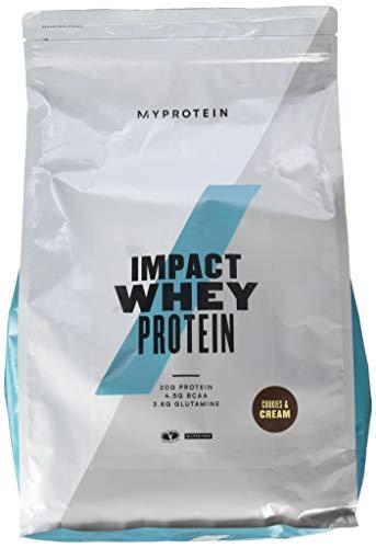 Myprotein Impact Whey Protein Cookies und Cream, 1er Pack (1 x 5000 g)