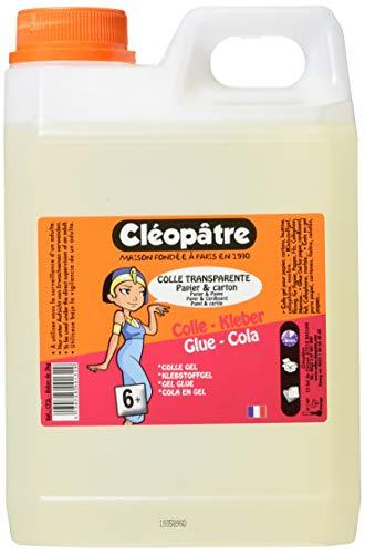 Cléopâtre – CT2L – Starker Transparentkleber COLLE TRANSPARENTE, 2 kg-Kanister