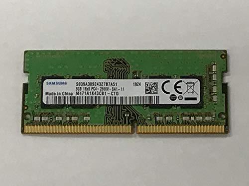 Samsung 8GB DDR4 2666MHz RAM Memory Module for Laptops (260 Pin SODIMM, 1.2V) M471A1K43CB1