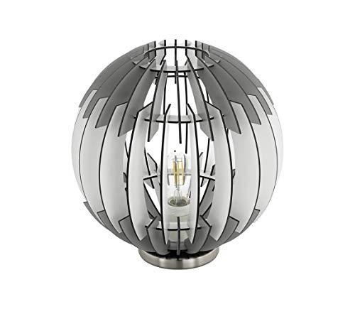 Eglo 79139 - Tischlampe OLMERO 1xE27/60W/230V