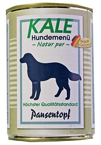 Kale Hundefutter Nassfutter Pansentopf (6 x 400 g)