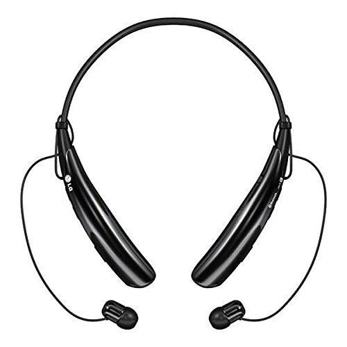 LG Electronics Tone Pro HBS-750 Bluetooth Wireless Stereo Headset - Retail Packaging - Black (Renewed)