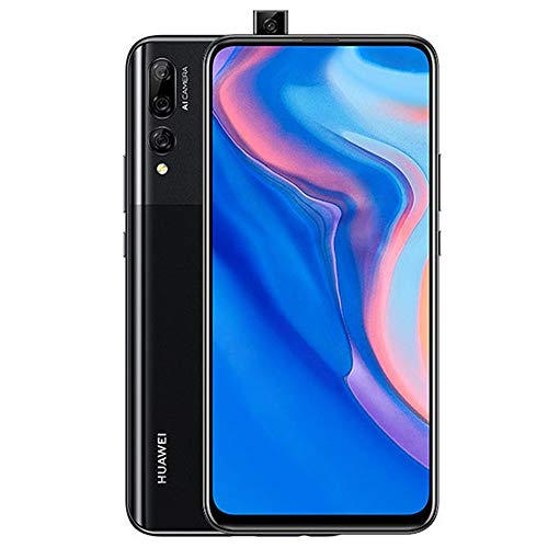 Huawei Y9 Prime 2019 (128GB, 4GB RAM) 6.59' Display, 3 AI Cameras, 4000mAh Battery, Dual SIM GSM Factory Unlocked - STK-LX3, US & Global 4G LTE International Model (Midnight Black, 128 GB)