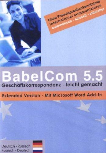 BabelCom 5.5 Extended Deutsch-Russisch [import allemand]