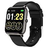 Smartwatch Mujer Hombre,Relojes Inteligentes Impermeable IP67 con Pulsómetros Podómetro Cronómetros Monitor de Sueño Contador de Caloría Reloj Digital Pulsera Actividad Inteligente para Android iOS