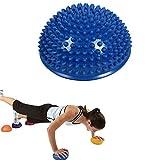 LahAd Balance Board Cojin Equilibrio Fitness Hacer Ejercicio En Casa Entrenamiento En Casa Ejercicio Tabla De Equilibrio por Equipo De Entrenamiento Blue,Freesize