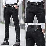 Zoom IMG-2 djiess pantaloni da ufficio uomo