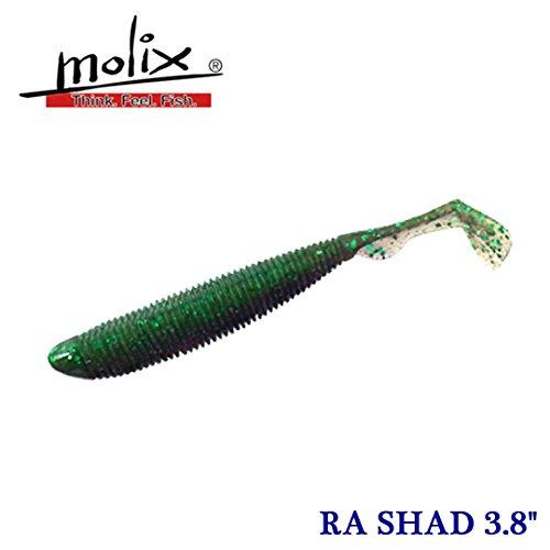 モリックス RAシャッド 3.8インチ#143 サワーグレープ