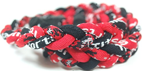 20' Digital Camo Tornado Necklace - Red Black w/ Case