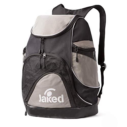 JAKED Atlantis XL Backpack Zaino Sportivo Grande Per Uomo E Donna Funzionale, Resistente, Leggero, Impermeabile, Per Palestra, Piscina, Ciclismo, Trekking, Campeggio, Da Viaggio E Per Uso Quotidiano