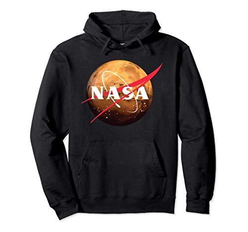 NASA Mars Space Exploration Pullover Hoodie