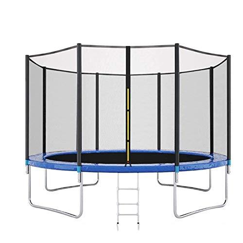 DXYSS Trampolín Elástica de Jardín 10-Foot Jump Dunk trampolín con recinto Net - Baloncesto trampolín, Tiene Capacidad for múltiples niños, Adecuado for jardín de Infancia, Zona de Juegos