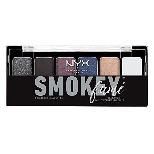 NYX Professional Makeup The Smokey Fume Shadow Palette, 0.21 Ounce