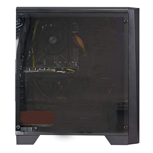 dcl24.de [13243] Gaming PC Cylon RGB Intel i5-9600KF 6x4.6 GHz Turbo - 240GB SSD & 1TB HDD, 16GB DDR4, RX5500XT 4GB, WLAN, Windows 10 Pro Spiele Computer Rechner