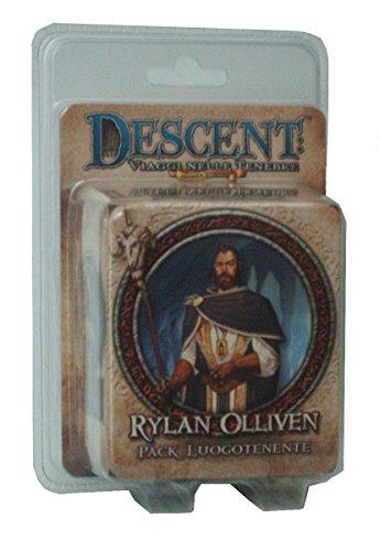 Giochi Uniti GU242 - Gioco Descent Seconda Edizione: Rylan Olliven