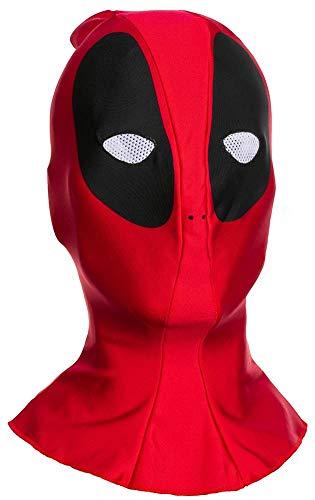 Deadpool Marvel Costume Fabric Overhead Mask Adult One Size