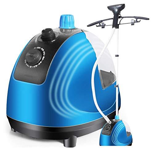 N\C Dampfpressen Dampfgarer in voller Größe für Kleidungsstücke Stoff - Professionelle Schwerlast - 8 Dampfstufen, die perfekten kontinuierlichen Dampf erzeugen, blau ZZST