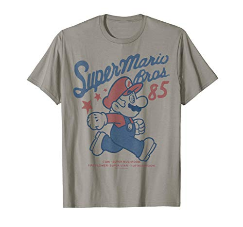 Official Nintendo Super Mario Brothers '85 T-shirt for Men, Women, Youth