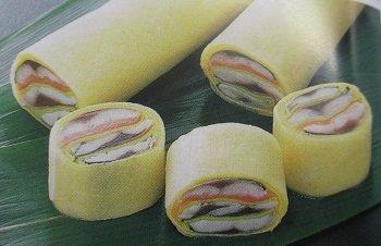 さんま博多 絹田巻 5本 ( 1本約140g ) 冷凍 秋刀魚 酢の物 業務用