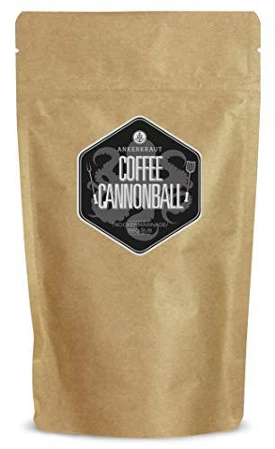 Ankerkraut Coffee Cannonball, BBQ Rub Gewürzmischung für Rind- oder Wildfleisch, 250g im Beutel