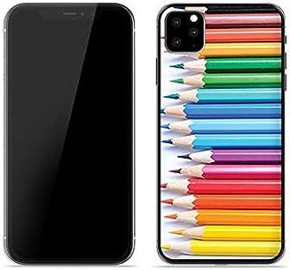 Etui na Apple iPhone 11 Pro Max - etui na telefon Foto Case - kredki - guma case obudowa silikonowa wzory