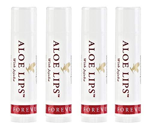 Forever Living Aloe Lips with Jojoba Family 4-Pack