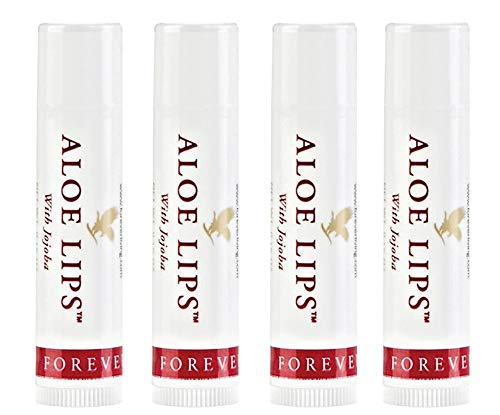 Forever Living Aloe Lips with Jojoba Family 4-Pack