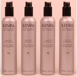 Kenra - Classic Volume Spray #25 Non-Aerosol 10.1oz Lot of 4