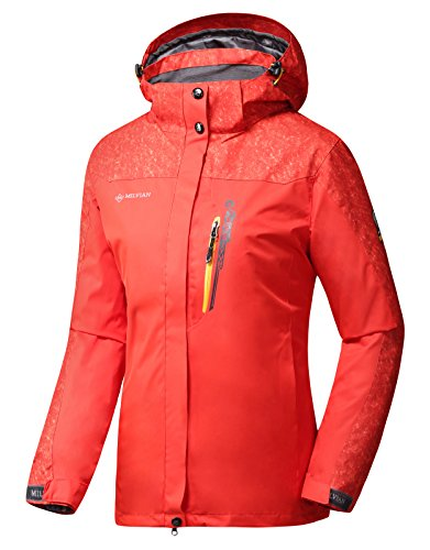 Diamond Candy Women Hooded Waterproof Lightweight Hiking Climbing Raincoat Outdoor Sports Jackets