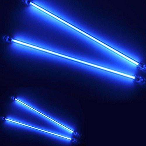 Mintice™ 15cm 30cm KFZ Unterboden Innenbeleuchtung Fußraumbeleuchtung Neonröhren Licht Kaltkathoden Blau CCFL