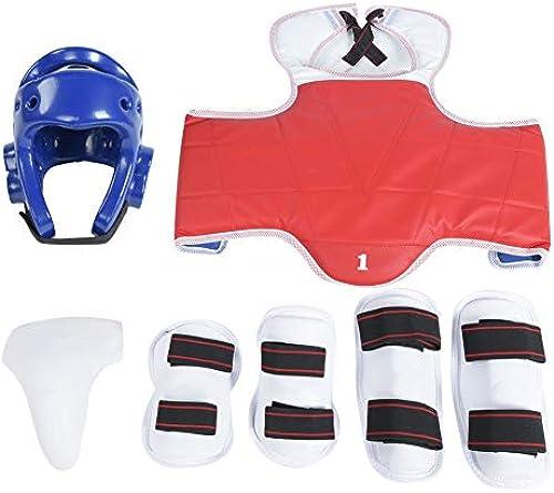 Taekwondo Tiefschutz Arm Band Boxing Karate Schritt Protector Kit Set