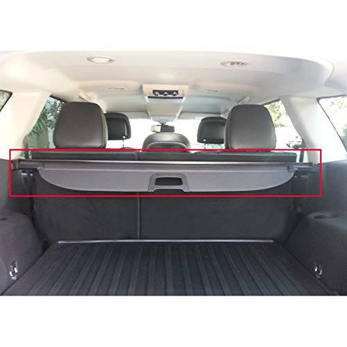 HTSM para FIAT Freemont 7 Seat 2008 2009 2010 2011 2012 2013 2014 2015 Cargo Blind Cover Parcel Shelf Shade Trunk Liner Screen Retractable Boot Cover Decoraciones