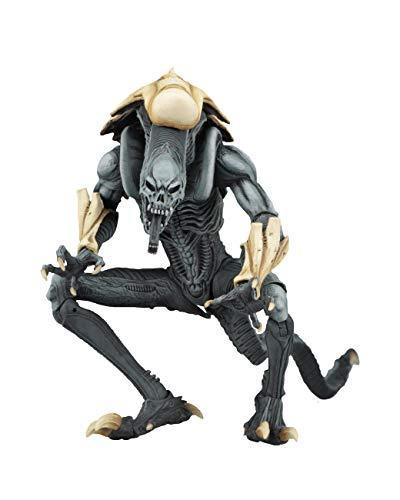 ODEUXS Predator vs Alien AVP Arcade Edition Juego Alien Figura móvil Figura Computadora Mesa Decoración Altura 18 cm