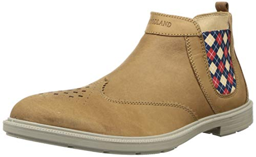 Woodland Men's 2872118 Camel Leather Boots-9 UK (43 EU) (10 US) (GB 2872118CAMEL)