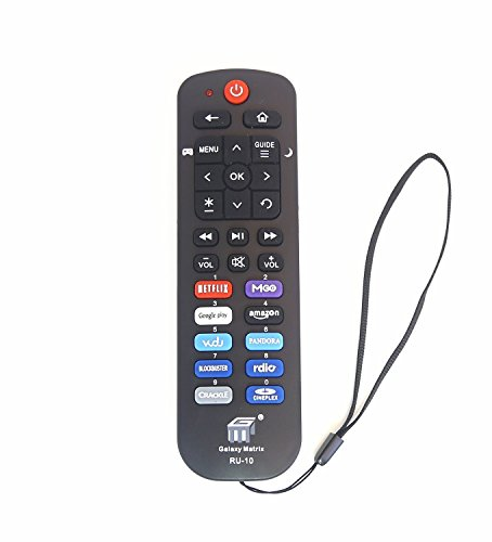 New NS-RCRUS-16 Remote fit for Insignia Roku TV NS-24ER310NA17 NS-32DR310NA17 NS-39DR510NA17 NS-40DR420NA16 NS-40DR420NA16B NS-43DR710NA17 NS-48DR420NA16 NS-48DR510NA17