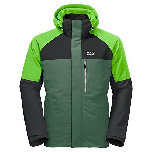 Jack Wolfskin Herren Steting Peak Jacket Jacke, graugrün, XL